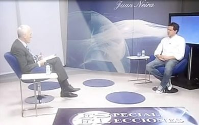 Entrevista de juan Neira a Luis Prado de Escaños en Blanco en La Lupa